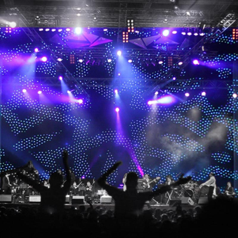 ANIMATION LED Effect Curtain