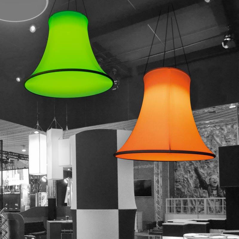 BELL Aluminiumring As A Classic Lamp Shape