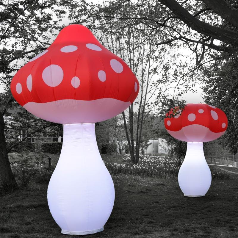 FUNGU Inflatable Light Sculpture