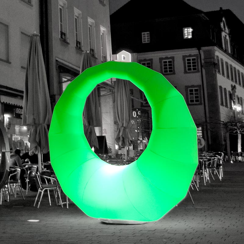 RING Inflatable Light Sculpture