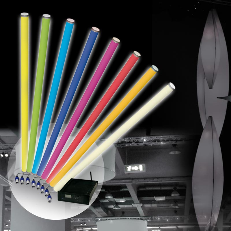 SPACE LIGHT HD LED-tubes With High Performance