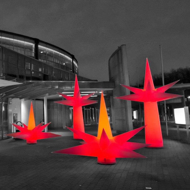 SPIKEBALL Inflatable Light Sculpture