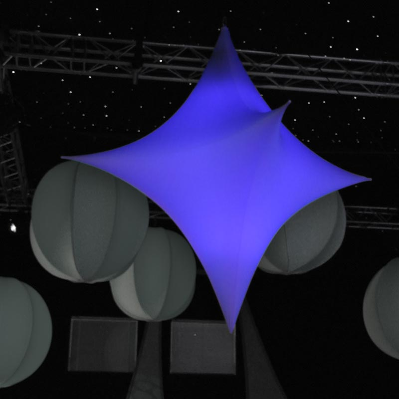 STAR 3D Abstract Illuminated Sculpture