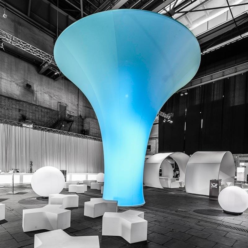 TURIN Funnel-shaped Decorative Column